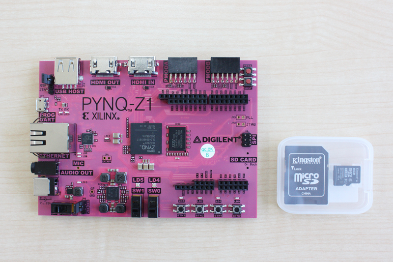 PYNQ-Z1 / PYNQ-Z2 (Python Productivity for Zynq) | 海外ハードウェア